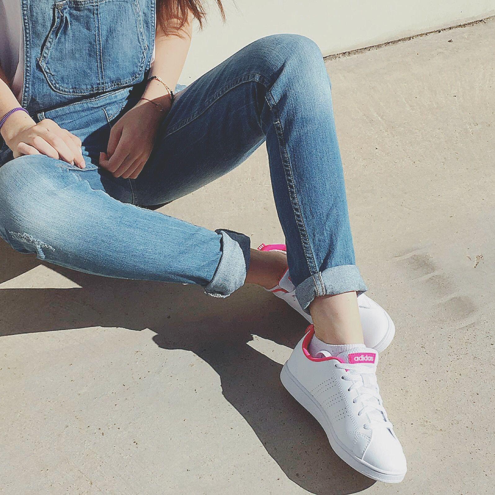 New arrivals! Elegancia y comodidad con las nuevas advantage pink de adidas Originals.