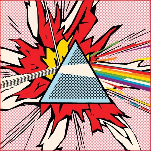 undeadgoathead: Pop-art Pink Floyd  - OMG it's POP ART