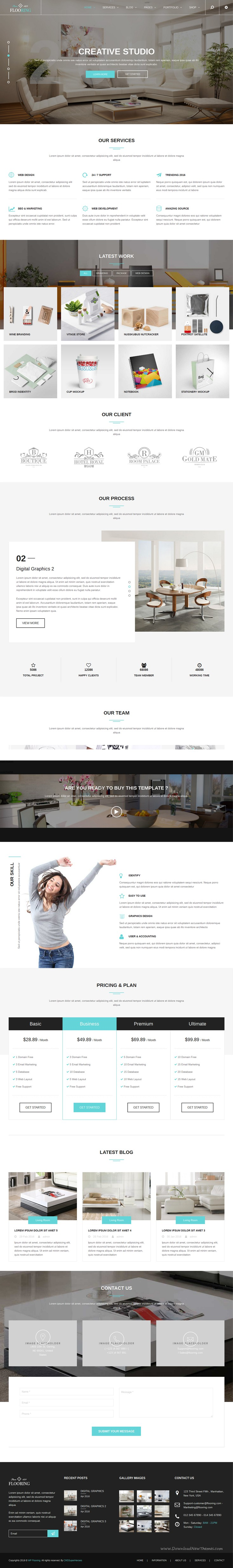 Flooring Responsive & Multipurpose WordPress Theme
