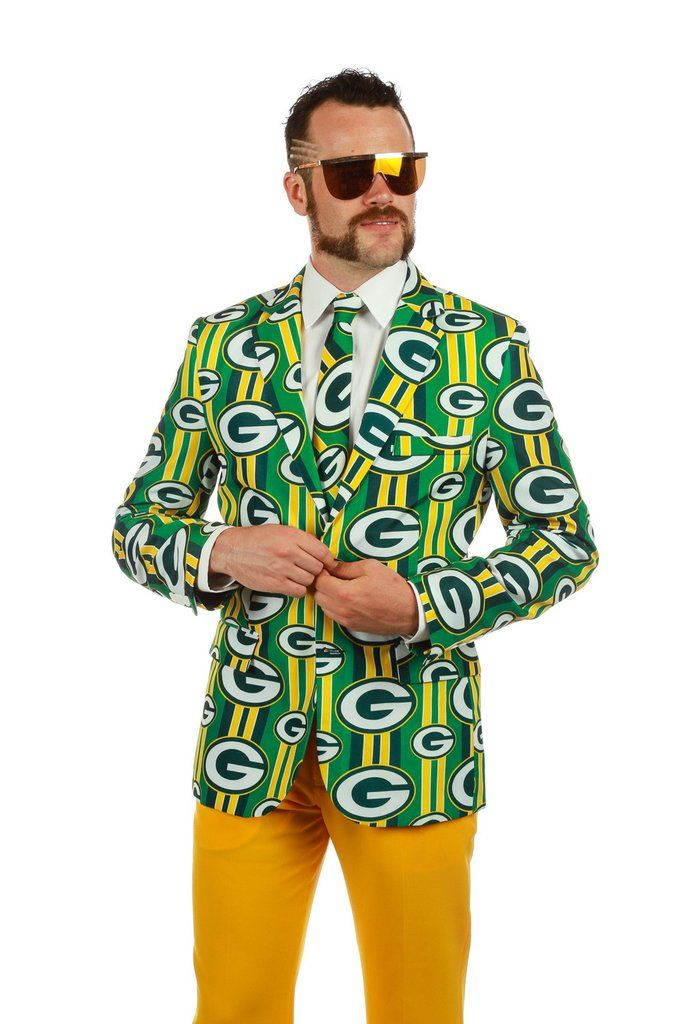 The First ever Green Bay Packers Suit | Get your NFL suits and other  outrageous clothing