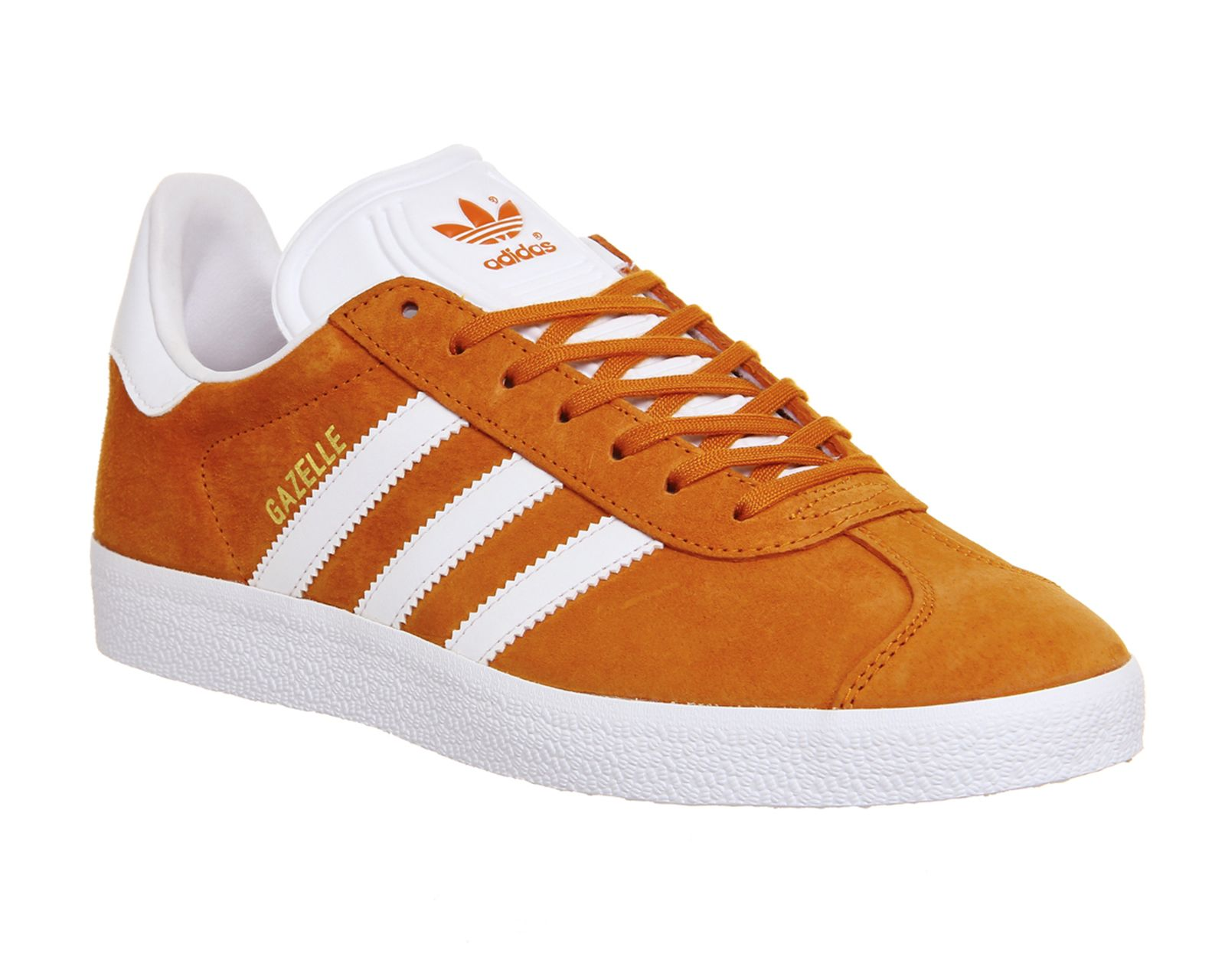 low priced d49c2 98cdb Buy Unity Orange White Gold Met Adidas Gazelle from OFFICE.co.uk.