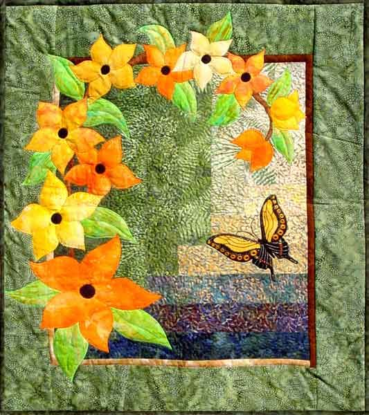 Free Easy Quilt Patterns | Array of Color - easy flower applique ... : free flower applique patterns for quilts - Adamdwight.com