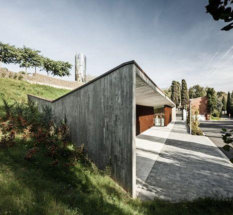 New Funeral Home In Sant Joan Despi By Batlle I Riog Arquitectes