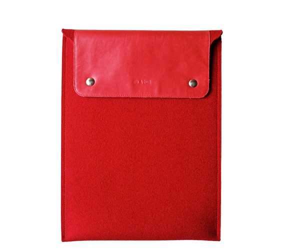 Red Classic MacBook Sleeve