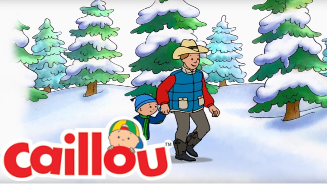 The Perfect Tree For Me Caillou Holiday Movie Christmas Special