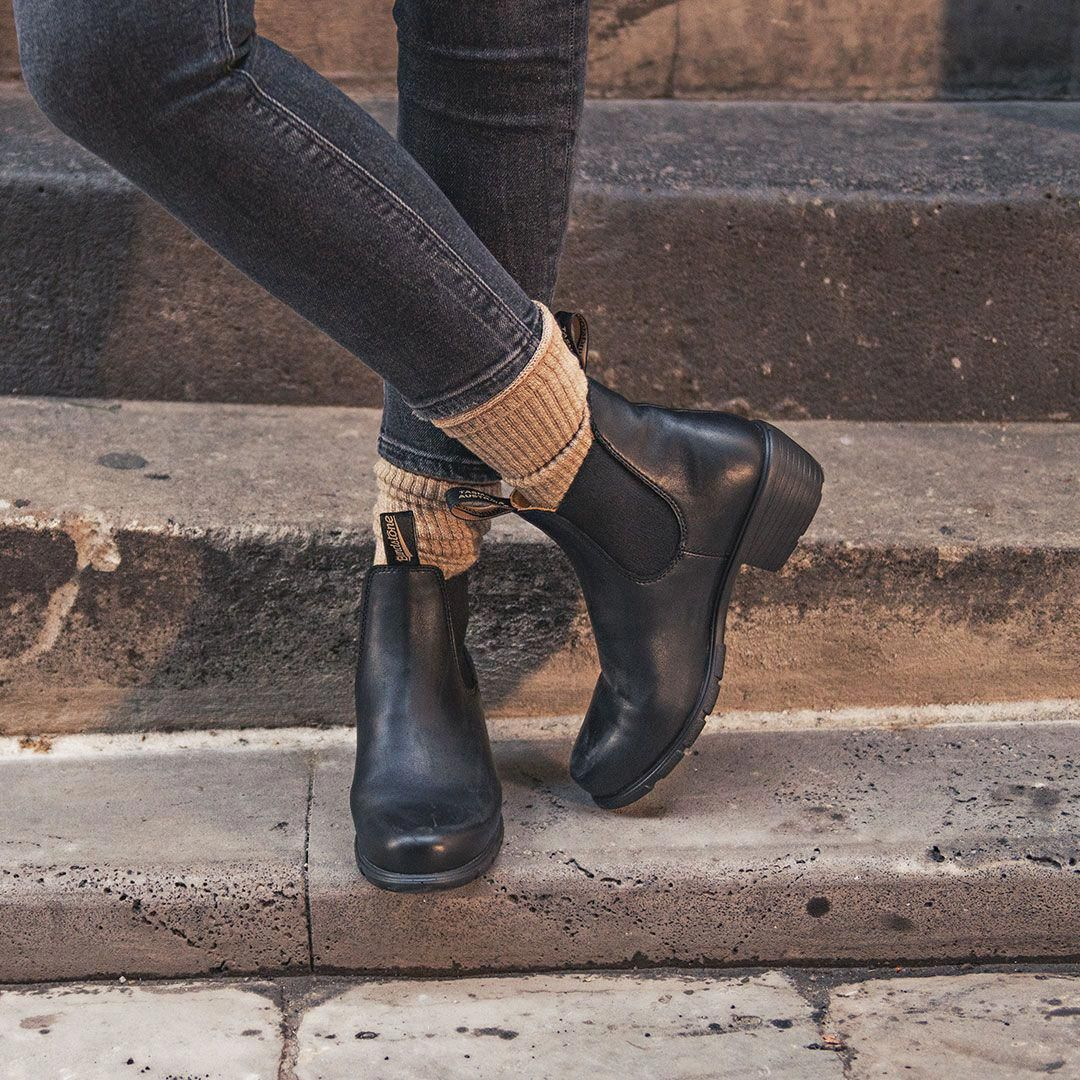 Shop Women's BLUNDSTONE 1671 Heel Ankle Boot in Black at Becker Shoes | The 1671... 13