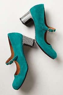 Anthropologie - Nacha Mary-Janes