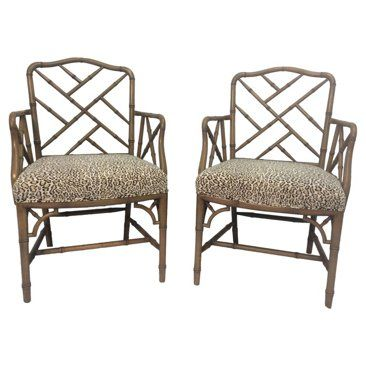 Check out this item at One Kings Lane! Chippendale-Style Chairs w