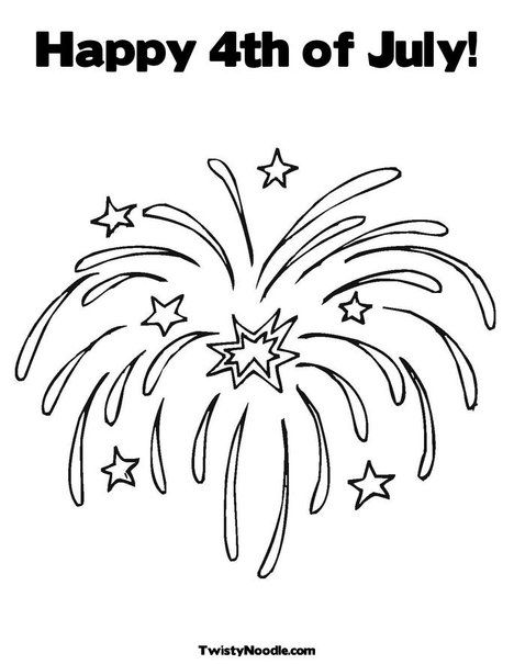 firework coloring pages Fireworks Coloring Page | * 4th of july unit study * | Pinterest  firework coloring pages