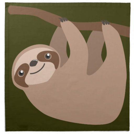 Image Result For Sloth Craft Template Vbs 2018