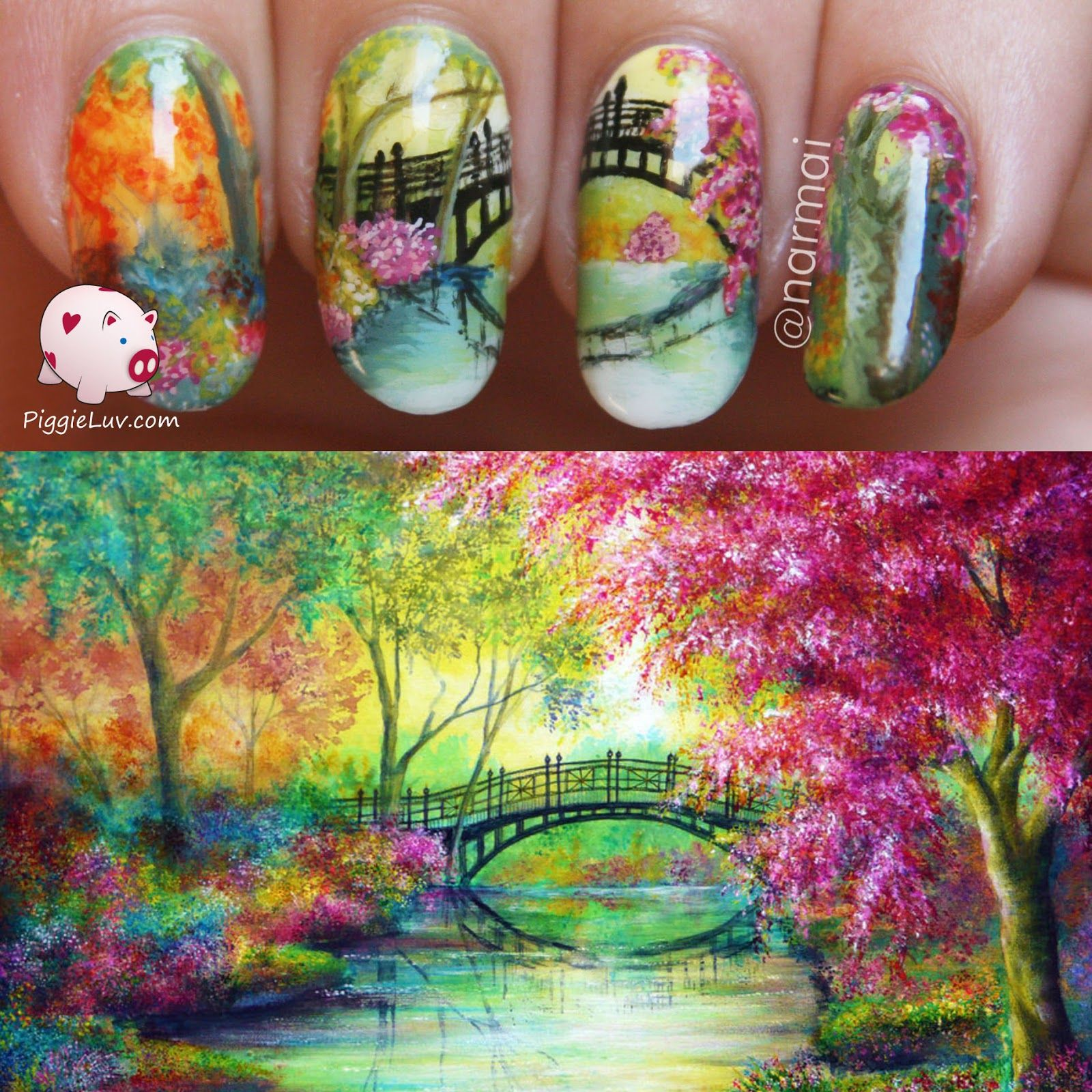 Nail art inspired by Ann Marie Bone | Blog, Arte de uñas y Diseños ...