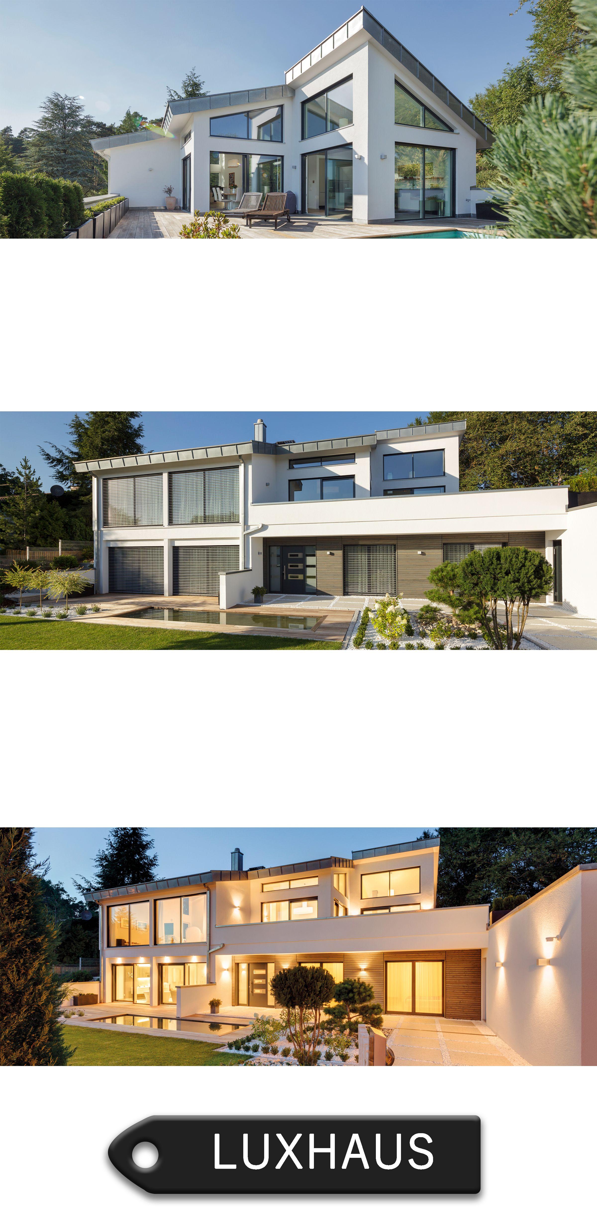 Satteldach Landhaus 290 Kundenhaus. Hersteller Luxhaus