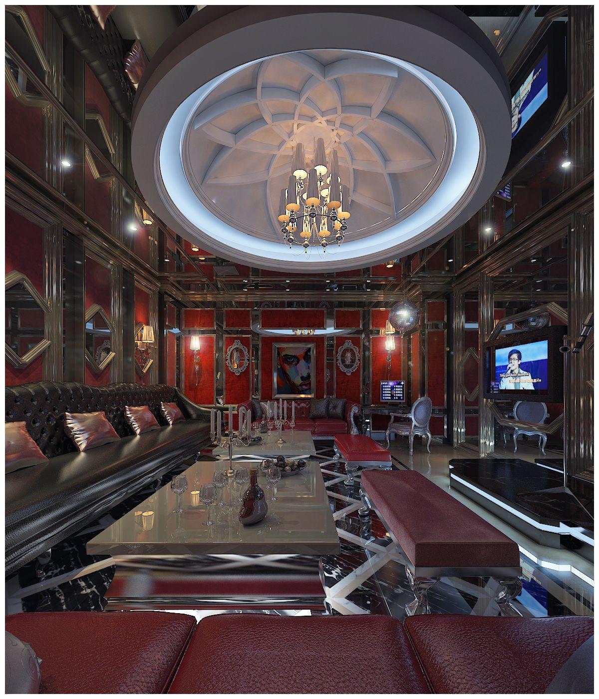 Semicircular Ktv Room Interior Design: Pin By Design Ktv Interior(0965028264 On Design Ktv
