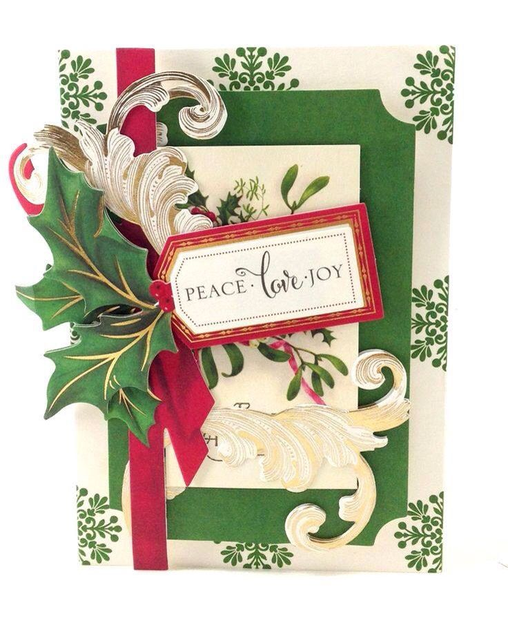 Anna Griffin Christmas Cards.Anna Griffin Card Using Christmas Traditions Kit Anna Griffin