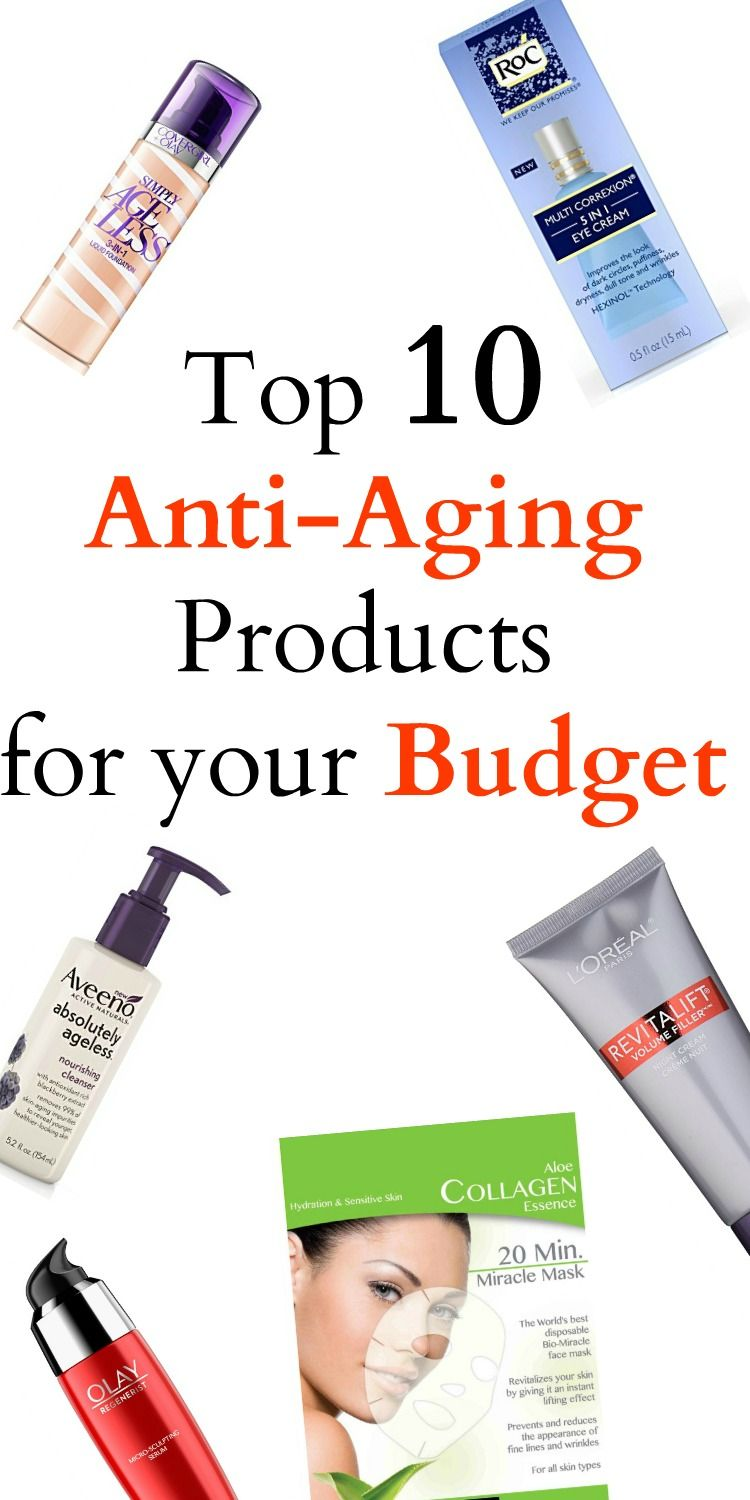 Top 10 Anti-Aging Products for your Budget