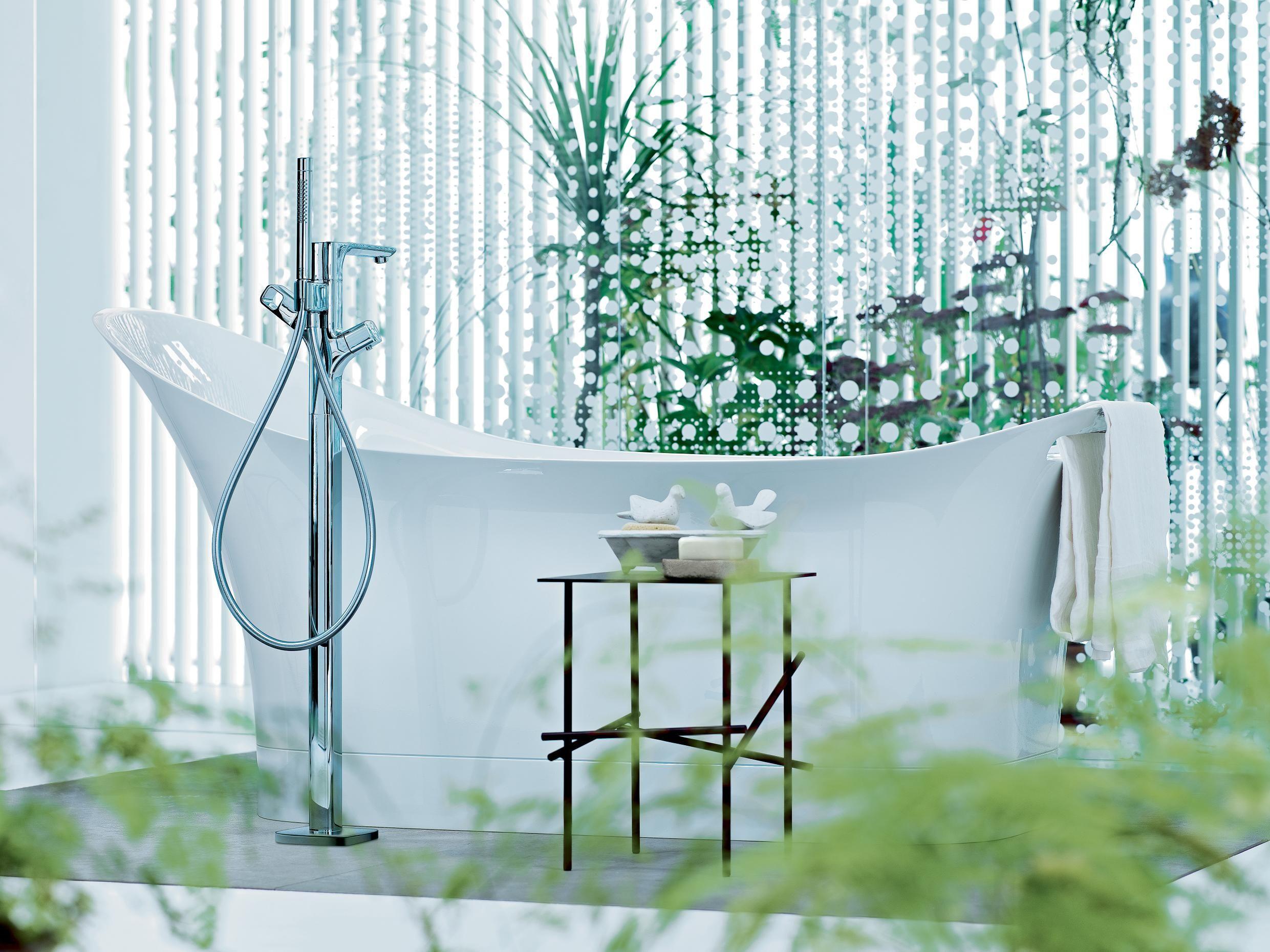 Badkamer Axor Urquiola : Axor urquiola bath and freestanding bath mixer luxurybathroom