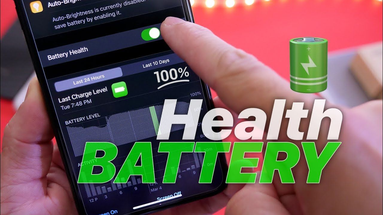 How to Preserve 100 battery health New information