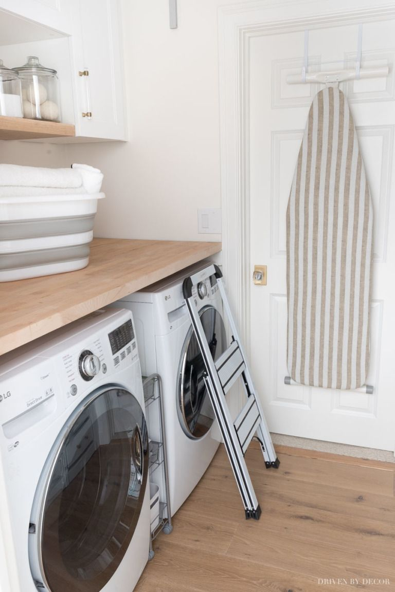 My Six Best Laundry Room Storage Ideas A Big Wayfair Clearout Sale Big Clearout Han In 2020 Laundry Room Storage Laundry Decor Storage Room