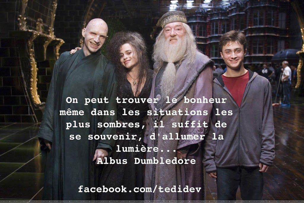 Citation Dalbus Dumbledore Trouver Le Bonheur Harry Potter Citation