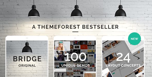 BRIDGE is a retina multi-purpose WordPress theme built on the very powerful and flexible framework by QODE. You can easily import any of the example demo sites. Choose your favorite design or style, and import pages and settins with the easy-to-use one click import feature. You can have a fully equipped website up and running within just a few minutes. Bridge is not just a theme, it's a collection of amazing examples with tons of features.