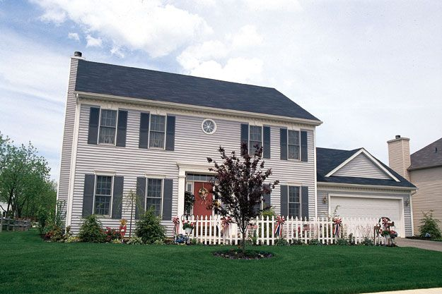 House Plans Home Plans And Floor Plans From Ultimate Plans Colonial Style Homes Colonial House Colonial House Plans