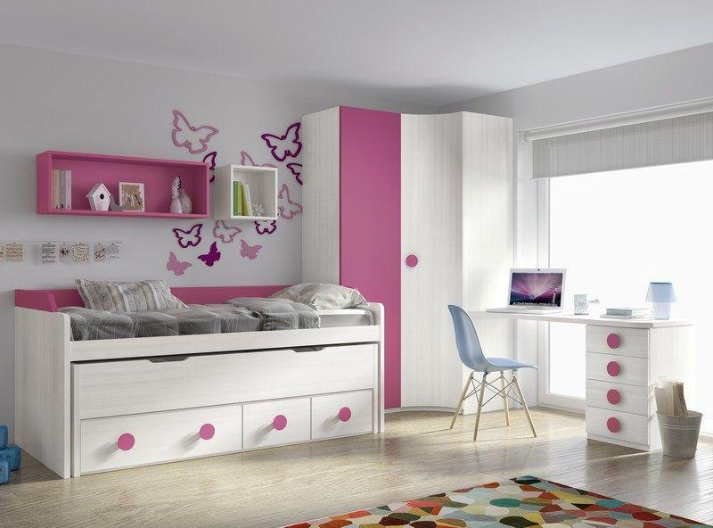 Habitaciones juveniles ofertas cosas para comprar for Habitaciones juveniles chica