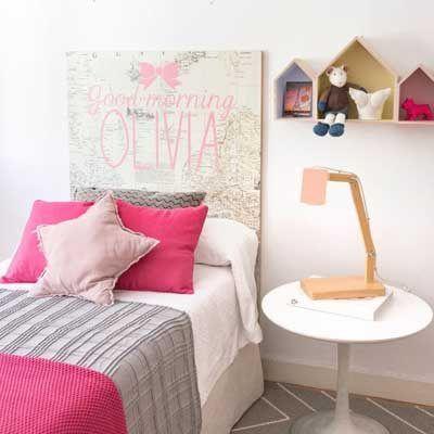 fotos e ideas para hacer cabeceros de cama infantiles y juveniles