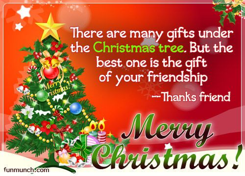 The Best Gift Is Your Friendship Merry Christmas Christmas Quote Christmas  Greeting Christmas Friend