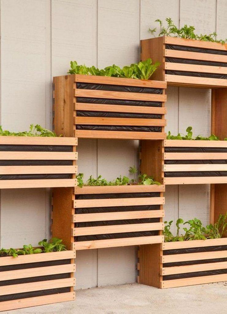9+ Smart Outdoor Planter Boxes Ideas For The Backyard