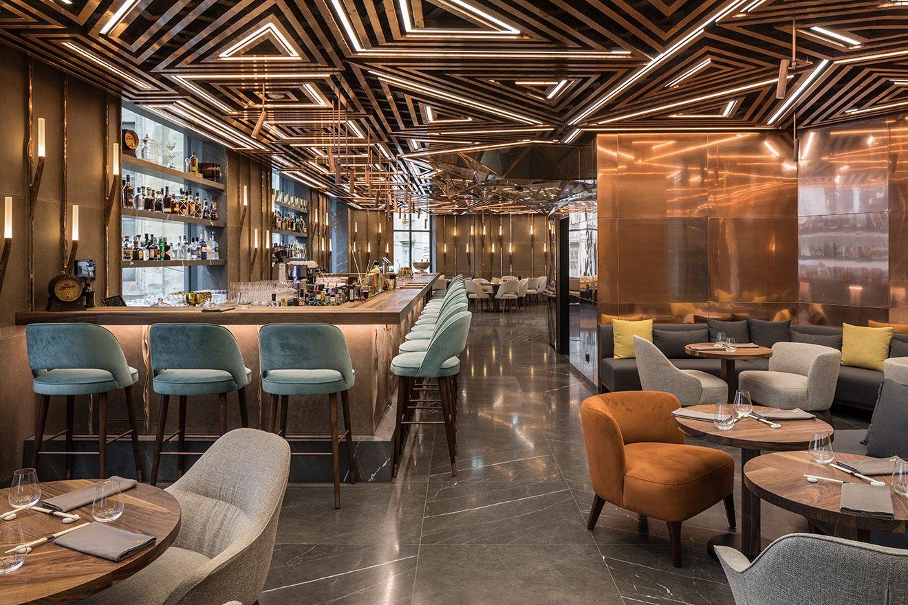 Ai Restaurant Gatserelia Design Martyn White London False