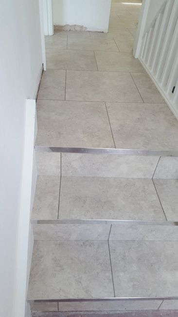 Installing Amtico Light Coloured Tiles To Areas Amtico Floors