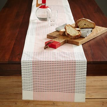 Good Seersucker Table Runner: This Tablecloth Brings Preppy Summer Style To  Everyday Meals. | West