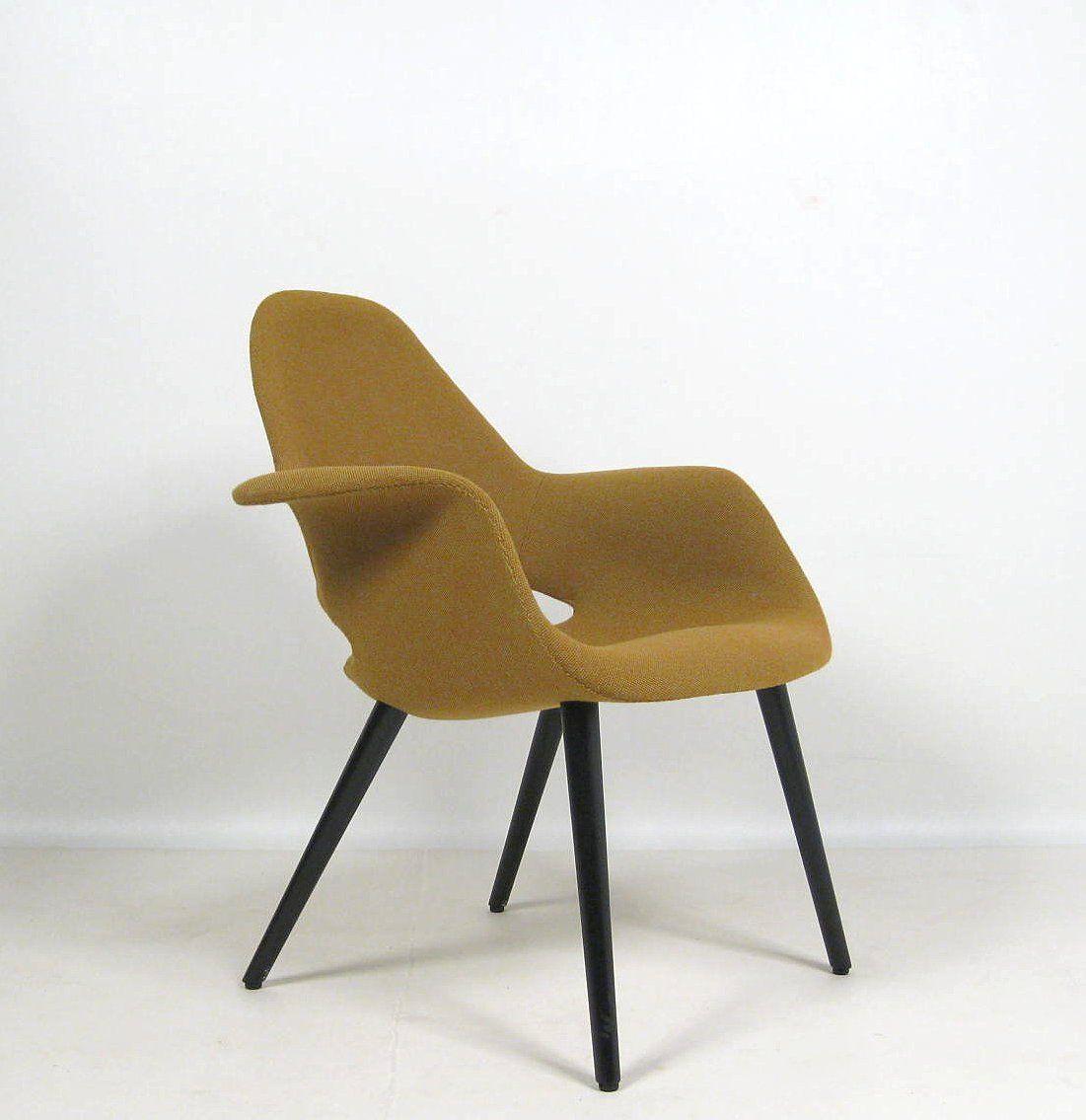 Charles Eames & Eero Saarinen, Sessel Modell Organic Highback Chair ...