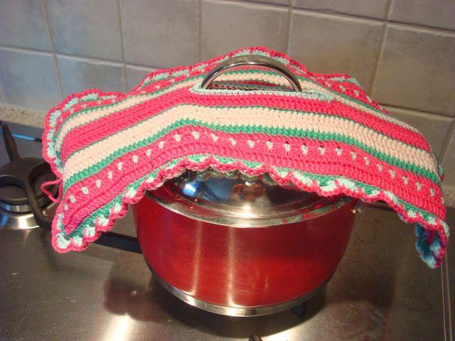 Gezellig Aan De Haak Langwerpige Pannenlap Crochet Crochet