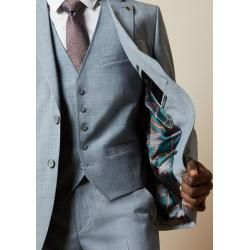 Photo of Blazer With Micro Carom Pattern Ted Baker