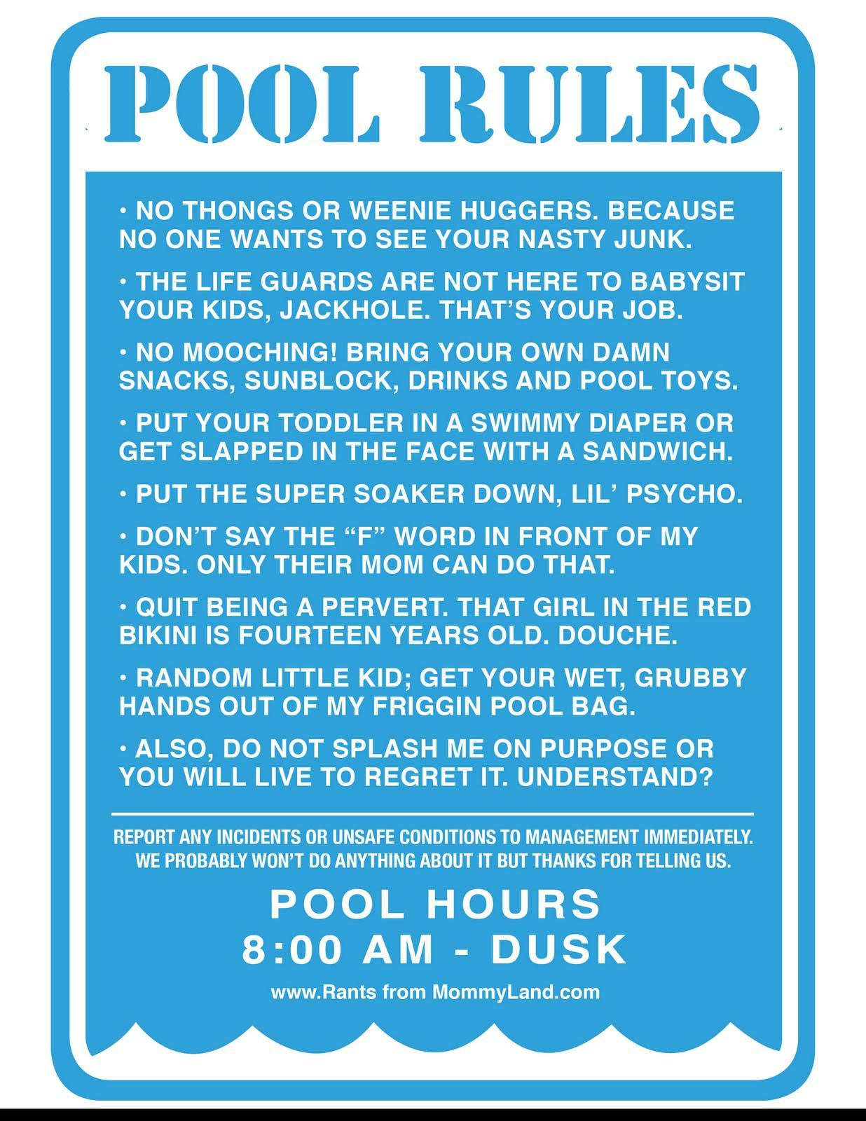 Swimming Pool Rules Signs Backyard Design Ideas Pool Rules Pool Rules Sign Swimming Pool Rules