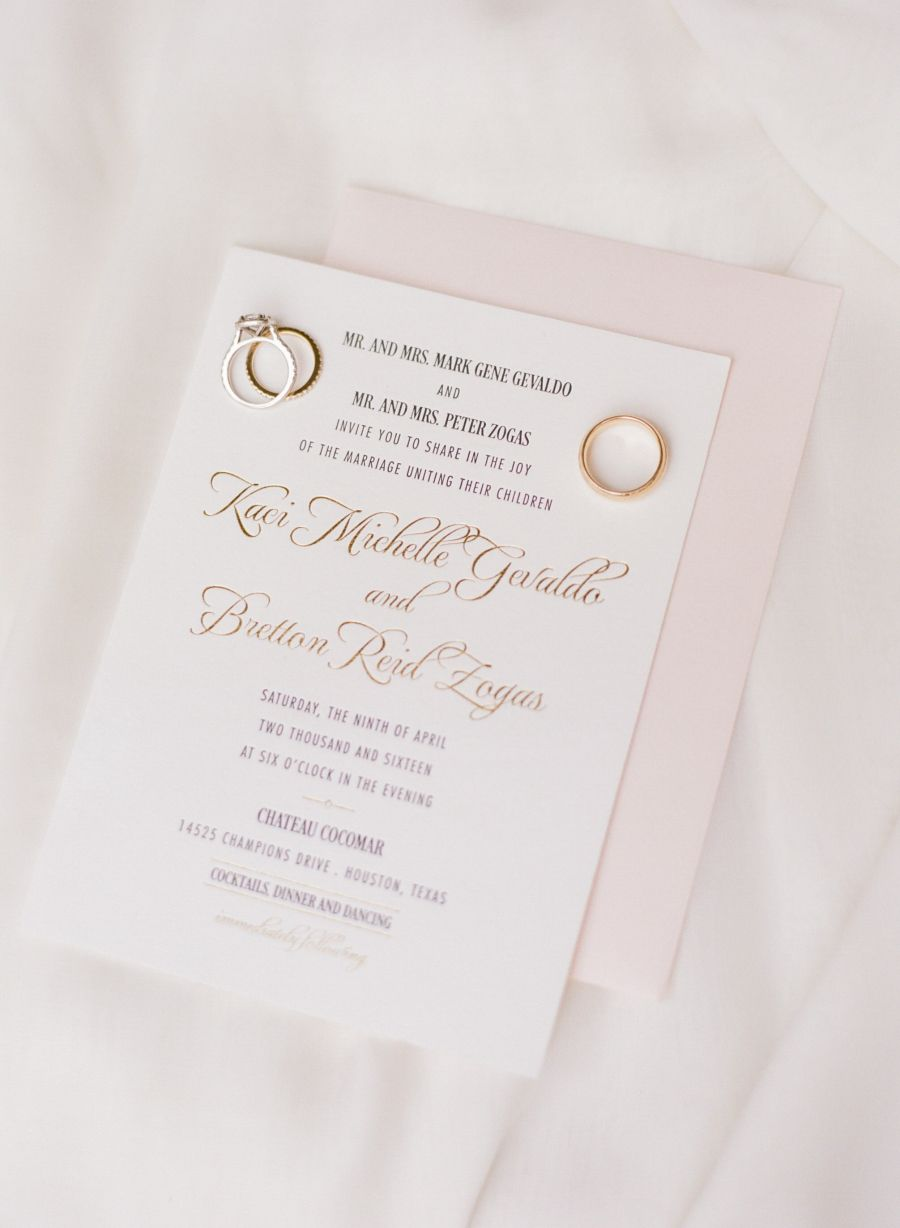 Bright pink glamorous gold will never go out style bright pink invitations invitation solutions httpstylemeprettyportfolio stopboris Image collections