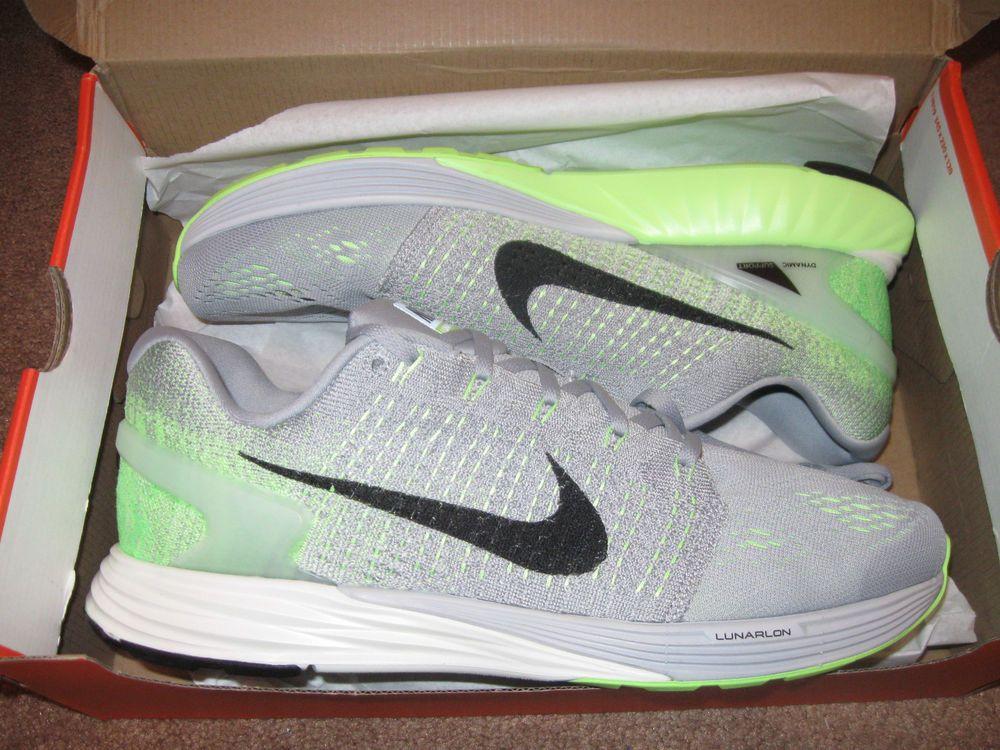 buy popular 85b7e 836fc Nike Lunarglide 7 Mens Running Shoes 11 Wolf Grey Black Ghost Green 747355  003  Nike  RunningCrossTraining