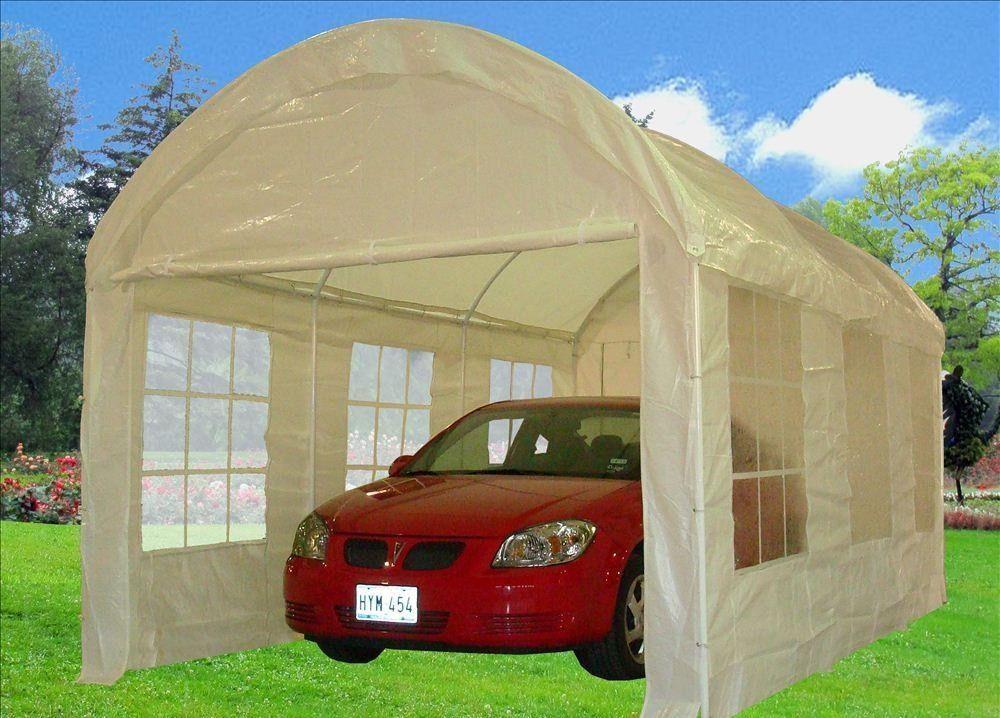 PE Party Tent 10' x 20' Heavy Duty Carport/Canopy