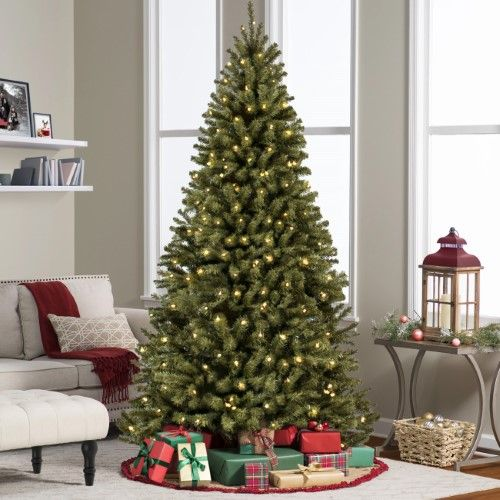 Best Choice Products 75\u0027 Ft Prelit Premium Spruce Hinged Artificial