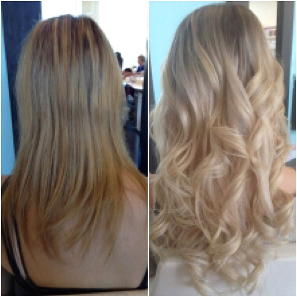 Before After With So Cap Hair Extensions Longer Thicker Fuller