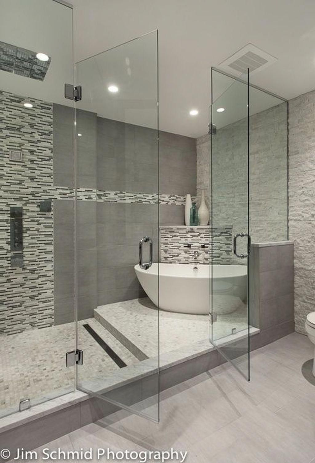 Photo of Stunning 30+ Best Master Bathroom Shower Remodel Ideas To Try. #masterbathroomre…