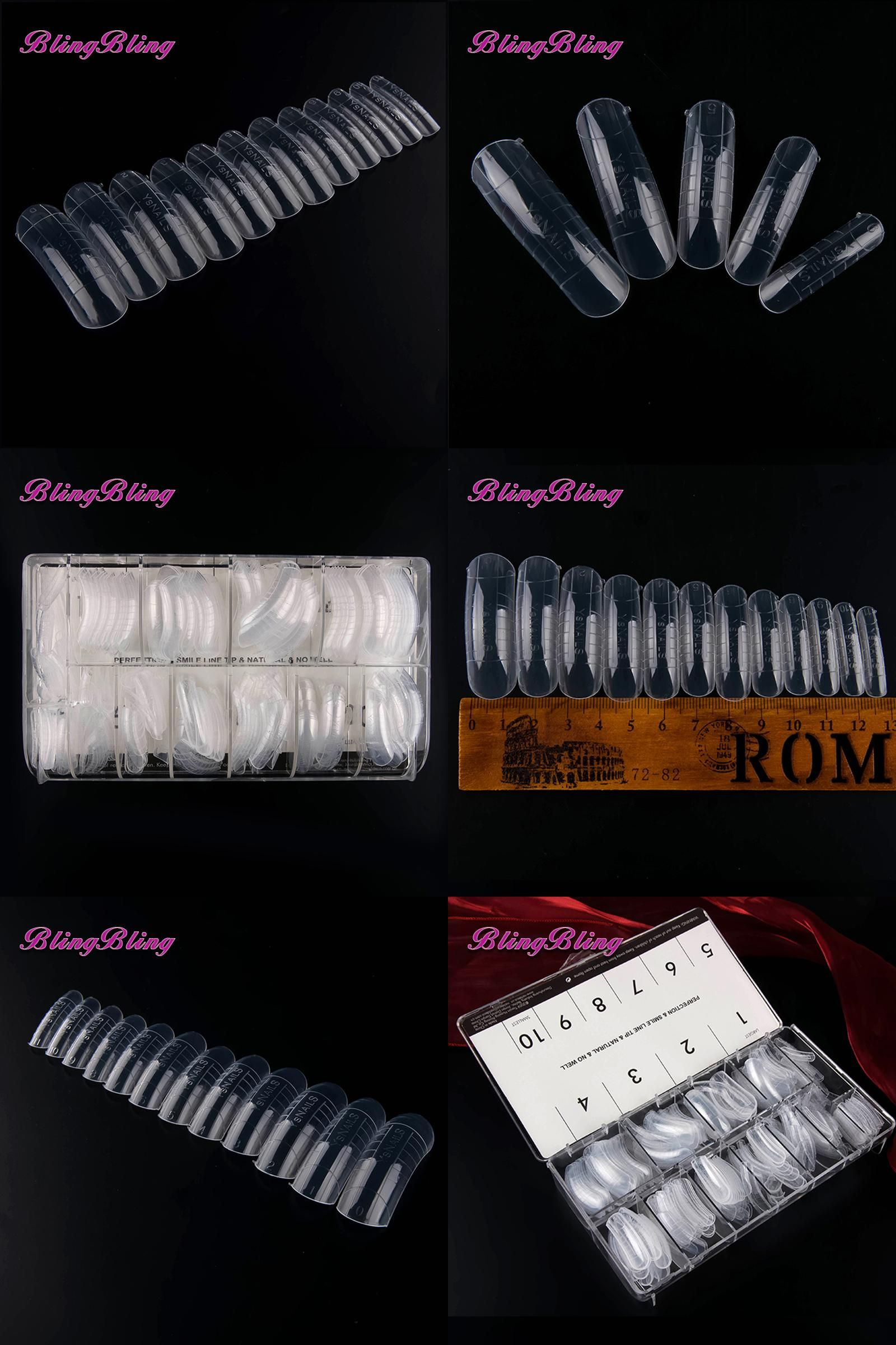 P & L Form Visit To Buy 312Pcs Fake Nails Molds Dual System Form False Nail .