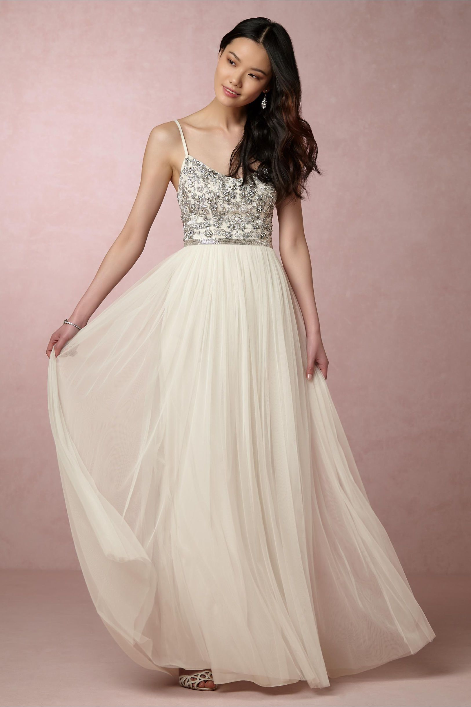 Bhldn Venus Maxi Dress In Bride Reception Rehearsal Dresses At