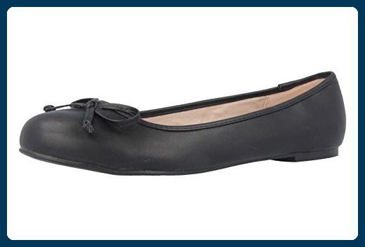 ANDRES MACHADO Damen Ballerinas Schwarz Schuhe in