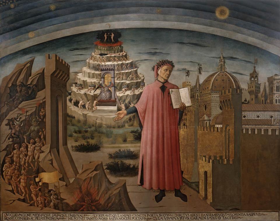 """Após o fracasso de Il Convivio (O Banquete) e da crise espiritual que este provavelmente provocou, Dante começou a pensar em seu próximo empreendimento. Ele sabia que tinha sido mal recebido por seu público. Os """"príncipes, barões, cavaleiros e muitos outros nobres, não apenas homens, mas mulheres"""", que ele tinha a esperança de atingir, não …"""