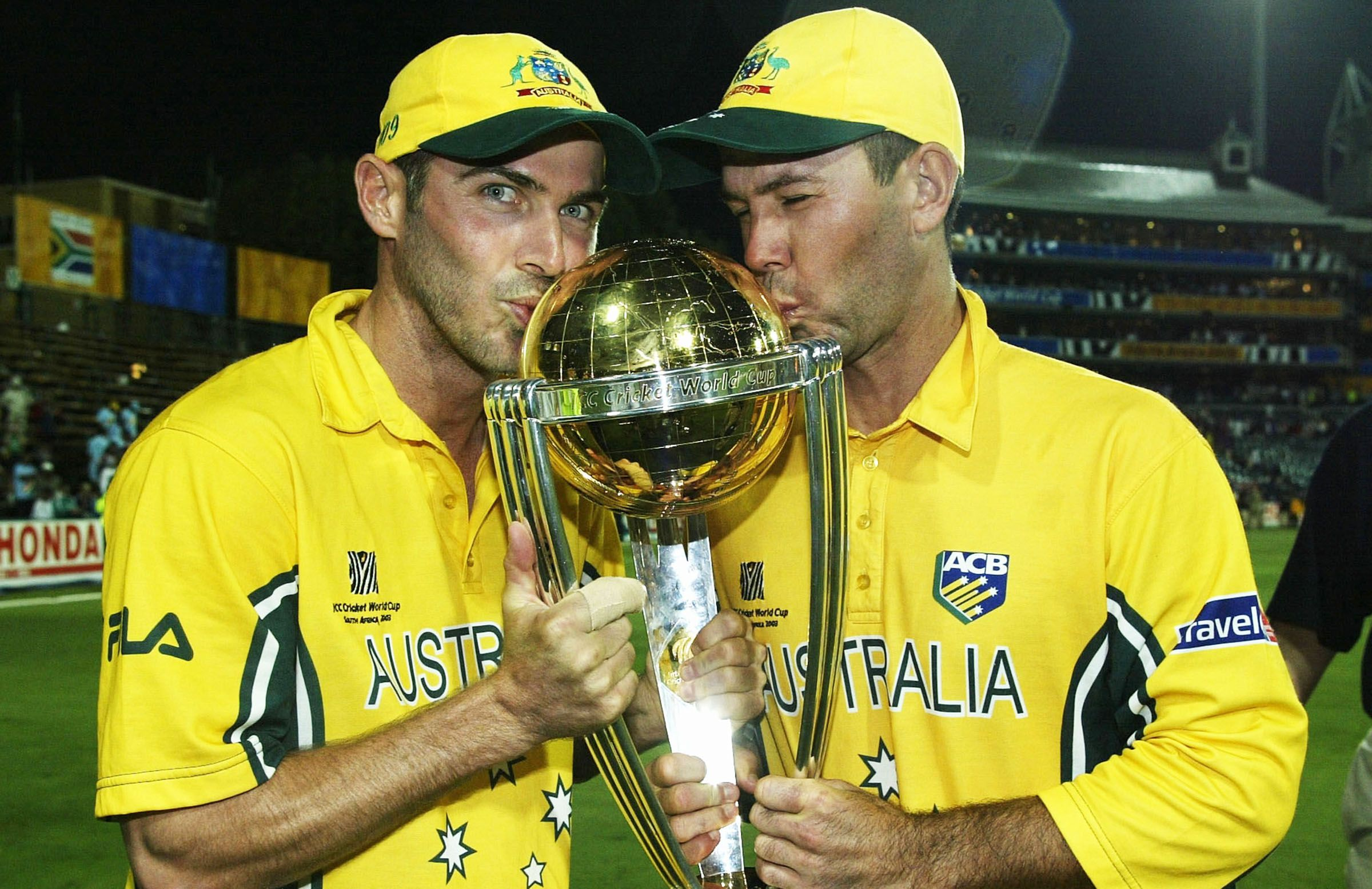 2003 Champs...Ponting 140 not out Martyn 88 no