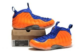 sale retailer 2c63e c6977 Nike Air Foamposite One Orange Blue Mens shoes