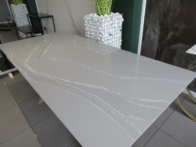 Quartz Dining Table In 2020 Dining Table Dining Stone Dining Table