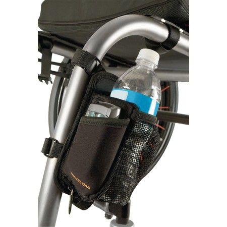 On The Go Water Bottle Holder Wheelchair Accessories Wheelchair Cell Phone Holder
